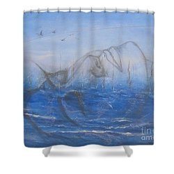 If I Could Tell You Shower Curtain by Jane  See