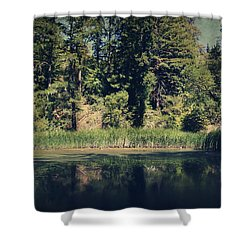 If It Was An Ocean Shower Curtain by Laurie Search