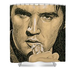 If You're Looking For Trouble Shower Curtain by Rob De Vries