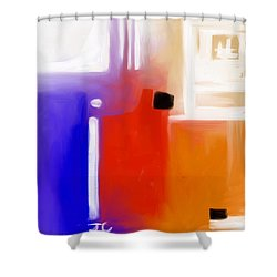 Ignite. Shower Curtain