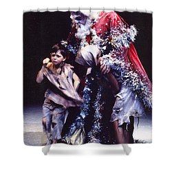 Christmas Carol Shower Curtain