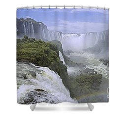 Iguazu Falls 1 Shower Curtain