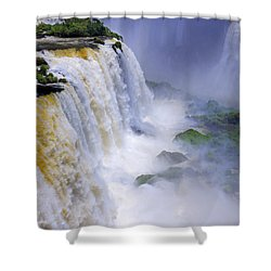 Iguazu Falls IIi Shower Curtain by Bernardo Galmarini