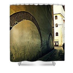 Il Muro  Shower Curtain