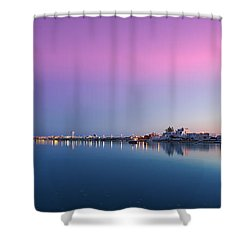 Ilha De Faro Shower Curtain by English Landscapes