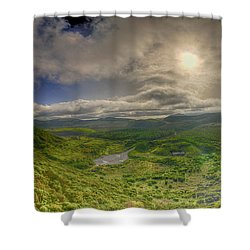 Ilha Terceira @ Azores Shower Curtain