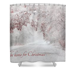 I'll Be Home Shower Curtain by Lori Deiter