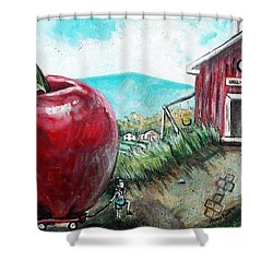 Ill Be The Teachers Pet For Sure Shower Curtain by Shana Rowe Jackson