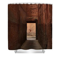 I'll Meet You Further On Up The Road.. Shower Curtain by A Rey