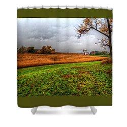 Illinois Farmland I Shower Curtain