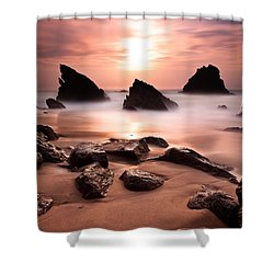 Illusions Shower Curtain by Jorge Maia