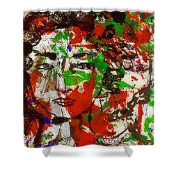 Illusions Shower Curtain by Natalie Holland