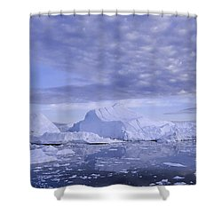 Shower Curtain featuring the photograph Ilulissat Icefjord Greenland by Rudi Prott