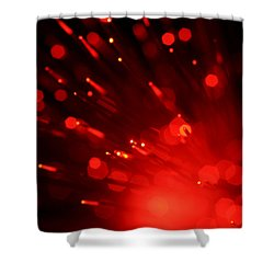 I'm Burning For You Shower Curtain by Dazzle Zazz