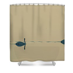 I'm Sailing Right Behind Shower Curtain by Laurie Search