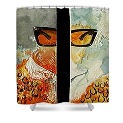 I'm Smiling At You Shower Curtain by Joseph Demaree