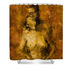 I'm Yours Forever Shower Curtain