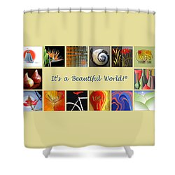 Image Mosaic - Promotional Collage Shower Curtain by Ben and Raisa Gertsberg