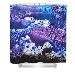 Shower Curtain featuring the painting Imagination 3 by Vesna Martinjak