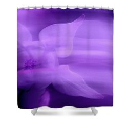 Imagination In Purple Shower Curtain
