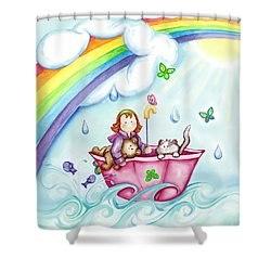 Imagination Land Shower Curtain