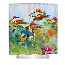 Imagine - Frc01v6 Shower Curtain by Variance Collections