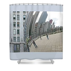Imaging Chicago Shower Curtain by Ann Horn