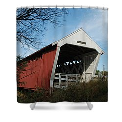 Shower Curtain featuring the photograph Imes Bridge No.2 by Janice Adomeit