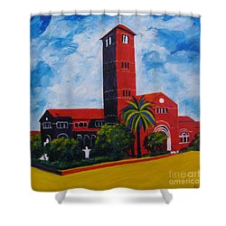 Immaculate Conception Cathedral Shower Curtain
