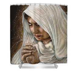Immaculate Conception - Mothers Joy Shower Curtain