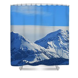 Immaculate Shower Curtain by Felicia Tica