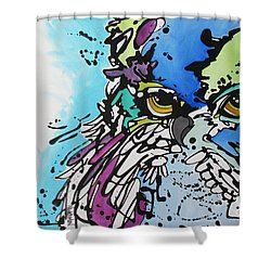 Immutable Shower Curtain