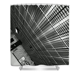 Impact Shower Curtain by Aimelle