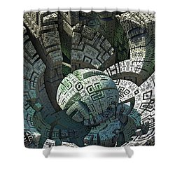 Impact Shower Curtain by Kevin Trow