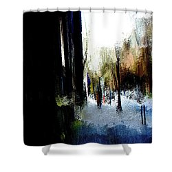 Impending Gloom Shower Curtain by Terence Morrissey