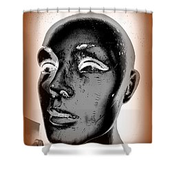 Imperfect Beauty Shower Curtain by Ed Weidman