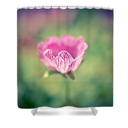 Imperfect Bloom Shower Curtain by Priya Ghose