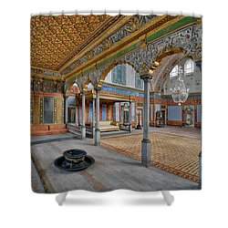 Imperial Hall Of Harem In Topkapi Palace Shower Curtain by Ayhan Altun