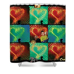 Importance Of Hope Shower Curtain by Feile Case