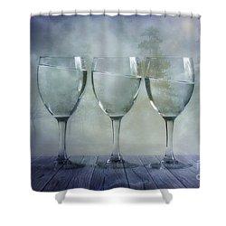 Impossible Shower Curtain by Veikko Suikkanen