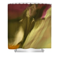 Impression Of A Rose Shower Curtain