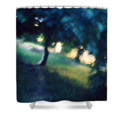 Impression Shower Curtain by Taylan Apukovska