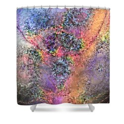 Shower Curtain featuring the digital art Impressionist Dreams 2 by Casey Kotas