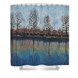 Impressions  Shower Curtain