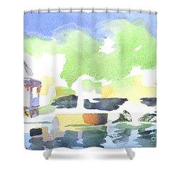 Impressions Shower Curtain by Kip DeVore