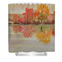 Impressions Of Fall Shower Curtain