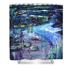 Impressions Of Giverny Shower Curtain by Donna Tuten
