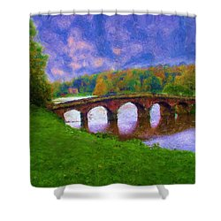 Impressions Of Stourhead Shower Curtain