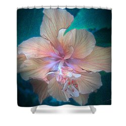 In A Butterfly Garden Shower Curtain