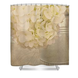 In A Gentle Way Shower Curtain by Kim Hojnacki
